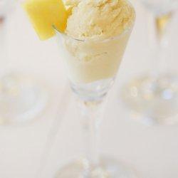 Coconut Pineapple Ice Cream