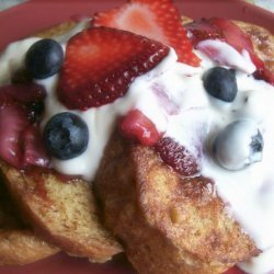 Brioche French Toast With Fresh Berry Compote