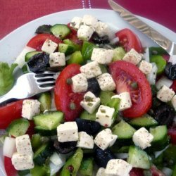 Xoriatiki (Greek  Village  Salad)