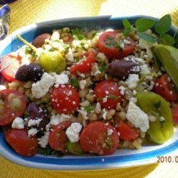 Greek Barley Salad recipe