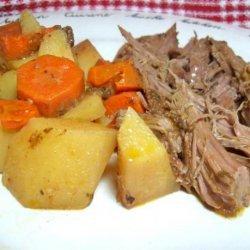 Zesty Slow-Cooker Italian Pot Roast