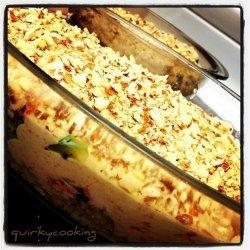 Salmon & Brown Rice Bake