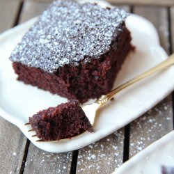 In Pan Chocolate Cake