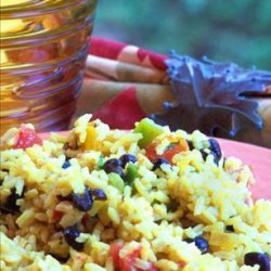 Black Bean & Yellow Rice Salad