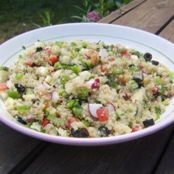 Quinoa and  Vegetable Tabouli Salad recipe