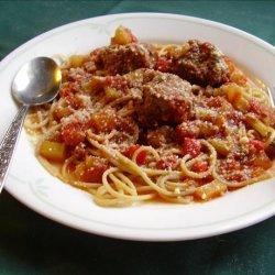 Meatballs in Tomato Gravy
