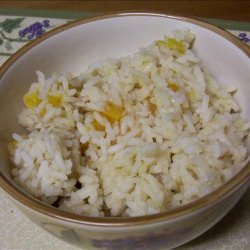 Mediterranean Spiced Rice With Apricots