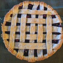 Blue Ribbon Cranberry Blueberry Pie