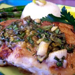 Cod Fillets With an Asian Lemon Curd Glaze