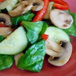 Japanese-Style Marinated Mushroom Salad