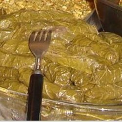 Stuffed Grape Leaves Lebanese recipe
