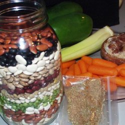 Calico Bean Soup Mix recipe