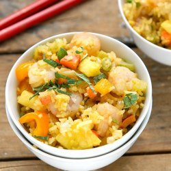 Spicy Pineapple Rice