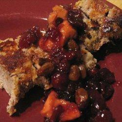 Almond Pork Tenderloin With Dried Cranberry-Apple Conserve