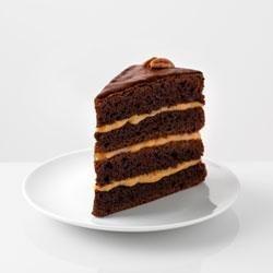 Chocolate-Caramel Turtle Torte recipe