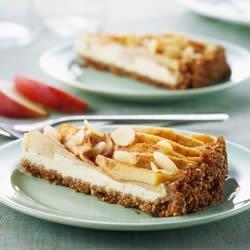 Shreddies Bavarian Apple Cream Cheese Tart recipe