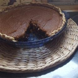 Mincemeat and Pumpkin Layer Pie recipe