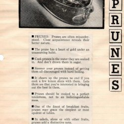 Prune Whip Pie