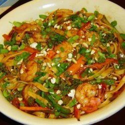 Planet Hollywood Thai Shrimp Pasta