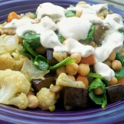 Warm Moroccan Style Salad recipe