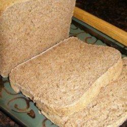 Sugar-Free, Fat-Free Whole Wheat Bread [ Bread Maker ]