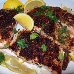 Lemon Pepper Grilled Salmon recipe