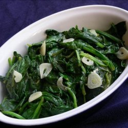 Real Simple's Lemon Spinach