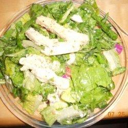 Baked Greek Chicken Salad
