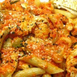 Chicken in sweet and hot pepper sauce