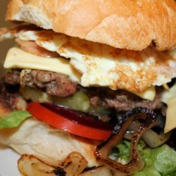 Australian Style Hamburger