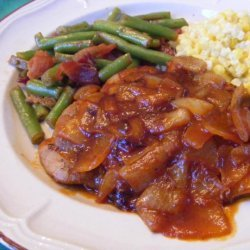 Pork Chops With Tangy Onion Sauce