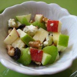 Crisp 'n Good Apple Salad With Walnuts and Walnut Oil Dressing