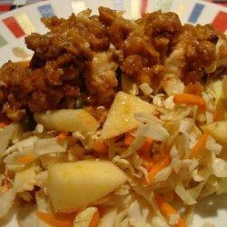 Asian Crunchy Peanut Chicken Salad