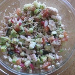 Chopped Salad With Tuna - South Beach
