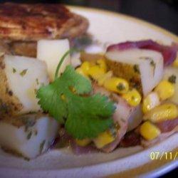 Warm Red Potato and Corn Salad