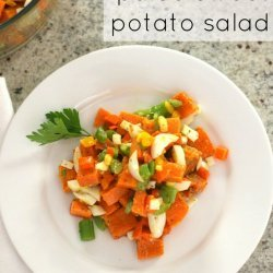 Simple Sweet Potato Salad