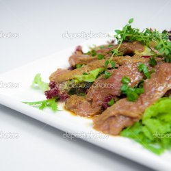 Beef Tongue & Vegetables