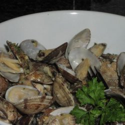 Steamed Clams for Two