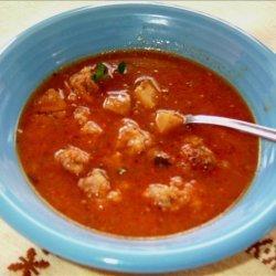 Dutch Brown Ragout Soup