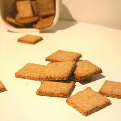 Seeded Crackers - Alton Brown recipe