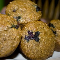 Low Low Fat Best Blueberry Muffins