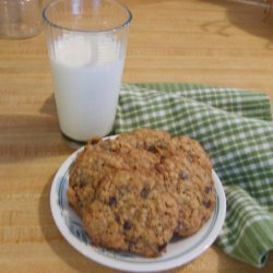 Flaky  Oatmeal-Raisin Cookies
