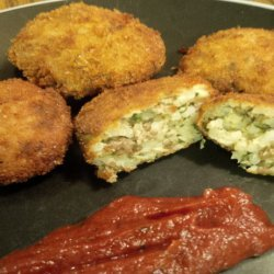 Kittencal's Ground Beef and Feta Rice Balls