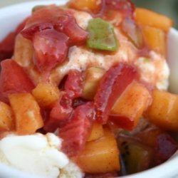 Fruity Ice Cream Salsa recipe