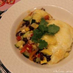 Vegetarian Polenta Casserole