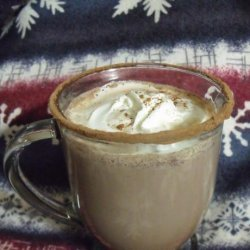 Hot Chocolate With Skim Milk, Cocoa Powder and Maple Syrup