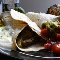 Steak Fajitas Corona recipe