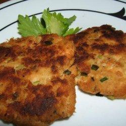 Salmon Cakes With Lemon - Herb Mayonnaise