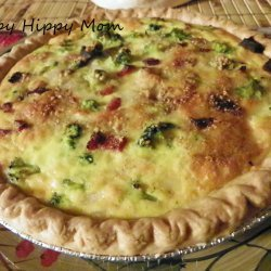 Ham and Swiss Cheese Quiche