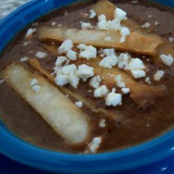 Oaxacan Black Bean Soup